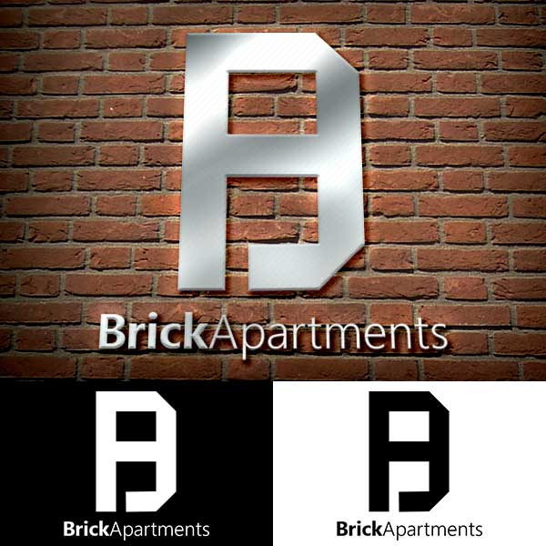 Brick Apartments Logo